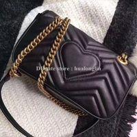 bolso promocional crossbody al por mayor-Bolso de las mujeres Diseñador de la marca de moda de lujo de cuero genuino de alta calidad original caja nueva llegada venta promocional M204