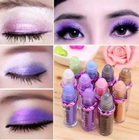 Wholesale Eight Ball - New Sequined Glitter Mineral Eye Shadow Collection Palette 11 Colors Eyeshadow Makeup Mineral Ball Eye Shadow