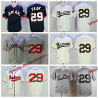 hot sales 7d787 bd46e low price mitchell and ness 1948 indians 29 satchel paige ...