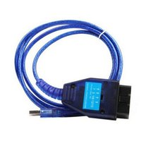 Wholesale Diagnostic Scan Tools For Fiat - ONLY Blue VAG 409 VAG KKL USB Diagnostic Cable ECU Scan Tool Interface for Fiat Diagnostic Tools