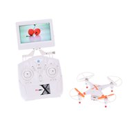 Wholesale drone cheerson camera online - New Cheerson CX S CH GHz Axis Gyro RTF G Real time RC FPV Quadcopter Drone with Camera LCD Display order lt no track