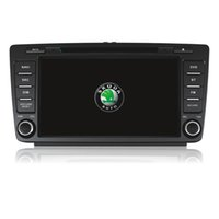 Wholesale Skoda Tv Din - 2 din car dvd gps for skoda octavia with CE and ROHS certificates car dvd player