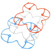 Wholesale Protect Helicopter - Wholesale Hubsan X4 H107 H107L V252 RC Quadcopter Parts Protect Cover Blue