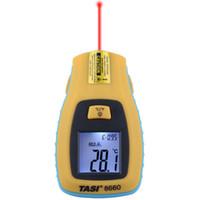 Wholesale Mini Laser Thermometers - Mini Pocket Digital LCD Infrared Laser Thermometer Temperature Measurement Range -50 to 330 Celsius TASI-8660