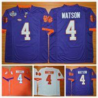 Wholesale Diamond High - Clemson Tigers DeShaun Watson Men Jersey #4 Diamond Quest College Men's Football Jerseys High quality Size S-XXXL