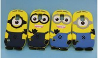 Wholesale Despicable Iphone 4s Cases - 3D Despicable Me 2 Soft Silicone Case More Cover for iPhone 4 4S 5 5S 5C 6 6s Plus iPod touch 4 5 Samsung S3 S4 S5 S6 note 2 3 4
