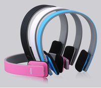 Wholesale bluetooth headphones stereo for laptop for sale - Group buy AEC BQ618 Wireless Bluetooth Headband Headphones Stereo Bass Handsfree Headset Earphones With MIC for Samsung iPhone Laptop Smartphone