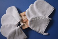 Wholesale Microfiber Face Cleaning Glove - Wholesale-Microfiber Facial Wash Cleaning Face Cleaning Mitt Glove Free Shipping 50pcs lot