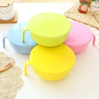 Wholesale Colored Noodles - Wholesale-Bowl creative instant noodles bowl lunch box candy-colored bowl tableware