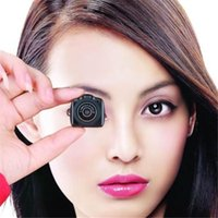 Wholesale Tiny Ccd Camera - Y2000 Super tiny Smallest Mini Video Camera Mini Pocket DV DVR Portable Camcorders Micro Digital Recorder+Retail package