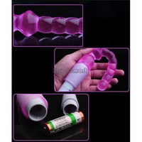 Wholesale Masturbation Sale - Hot Sale New Arrival Sex Toys Jelly Anal Beads Masturbation Rod Utensils Anal Sex Products Vibrating Stick
