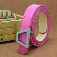 Wholesale Belts Children - Designer belts of high quality PU 2017 children belt buckle famous luxury brand belt boys and girls