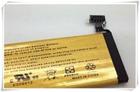 Wholesale Iphone 4s 4gs Gold - Golden Battery High Capacity 2680MAH Gold Replacement Li-ion Battery for iPhone 4S 4GS only US Epacket Fast Delivery