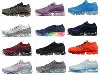 Wholesale christmas walk - New Vapormax Mens Running Shoes For Men Sneakers Women Fashion Athletic Sport Shoe Hot Corss Hiking Jogging Walking Outdoor Shoe