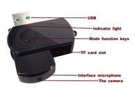 Wholesale Covert Motion Detectors - 2016 Mini DVR USB Disk Digital Hidden Camera spy camera Motion Detector Flash Drive Style Covert Video Camcorder Video Recorder
