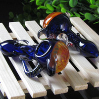 Wholesale Sky Smoke - 2015 Wholesale colorful Mini Glass Pipes Glass Tobacco Pipes Glass smoking Pipes Hand Pipes hammer Pipes mixed colors