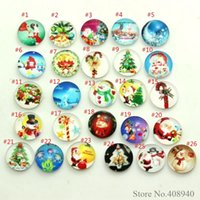 Wholesale Glass Locket Bracelets Wholesale - 2016 New Arrival floating charms 10PCS Mixed Glass christmas Floating Charms for Floating lockets & Floating locket bracelet LSFC300*10