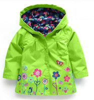 Wholesale 5t Raincoat - 2016 coats and jackets children, children hoodies, kids jackets coats, girls outerwear, Children's raincoat, dinosaur coat,