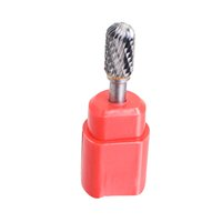 "Wholesale Wholesale Carbide Bur - Hotsale Dental Supplies Cylindrical Cut Tungsten Carbide Burr Bur Cutting Tool Die Grinder Bit 1 4"" Free Shipping"