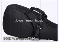 sponge guitar - Astraea Black Electric Guitar Bag D Nylon Oxford mm Thick Sponge Electric Guitar Soft Case Gig Bag Wholesales