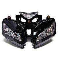 Barato Conjuntos De Faróis-Headlight Assembly Front Head Lamp Para Honda CBR1000RR 2004 -2007