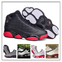 Wholesale Leather Waterproof Boots Women - Wholesale Retro 13 Basketball Shoes JXIII Sports Shoes Dirty Bred CP3 Cheap Athletics Women Running Shoes Trainer Sneakers Mens Sports Boots