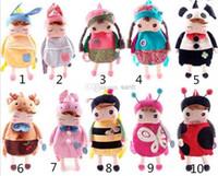Wholesale Metoo Angela Bags - Lovely Baby Angela Doll backpack Children School bags Metoo bags