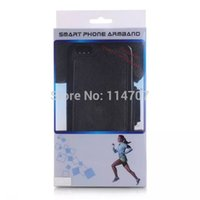 Wholesale-Multifunktions-2 in 1 Leder Arm-Band-Rennen Sport Fall Jogging Removable Handy Armband-Tasche für iphone 6 4.7