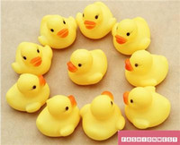 Kids Toy Rubber Duck Kids Toy New Baby Yellow Rubber Duck Children Bath Água Pinch Rang Early Childhood Educational Toys