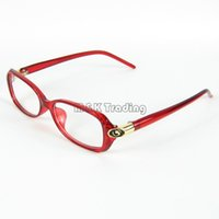Wholesale Rims Shops - Glasses Shop Brand Optical Frame Designer Small Size Eyeglass Frame Metal Hinge 4 Colors 12pcs lot