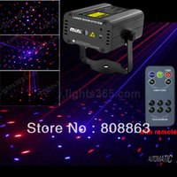 Wholesale Laser Mini Point - 2015 new laser point Pattern 200mw Remote MINI projector Red Blue Laser Stage lighting dsico Dance home Party DJ Light Show d21
