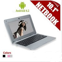 10.1Inch Android 4.2 VIA 8880 Cortex A9 Dual Core 1.5GHZ MINI Laptop de Netbook con WIFI 1GB 8GB Ethernet External 3G HDMI 1080P