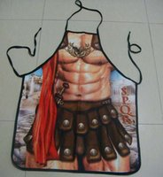 Wholesale Plus Size Aprons - ostumes Accessories Sexy Costumes Mr.Kooky Roman Warrior Rude Cheeky Cute BBQ Aprons Men Women Christmas Halloween Birthday Gag Party Dre...
