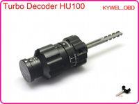 turbos opel al por mayor-Nuevo modo OEM TURBO DECODER HU100 V.2 para opel, descodificador turbo de abridor de puerta de automóvil, herramienta decodificador hu100 locksimth