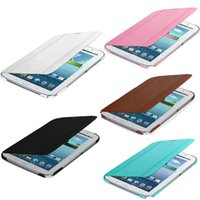Wholesale Galaxy Note Book Cover - S5Q Leather Case Smart Book Cover Protector For Samsung Galaxy Note 8.0 N5100 N5110 AAACIS