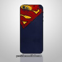 Wholesale-Envío Gratis Backside Pegatinas para iPhone Pegatinas Pegatinas Pegatinas teléfono Superman