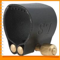 Wholesale Alto Sax Mouthpieces - High Quality Practical Alto Saxophone Mouthpiece Alto Sax Mouthpiece with Cap & Leather Clip
