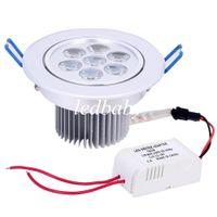 Wholesale bathroom bulbs online - New Dimmable W Downlight Spotlight X3W Bulb Energy Saving Lamp Good quality CREE High Power LEDs W W W W Ceiling Light