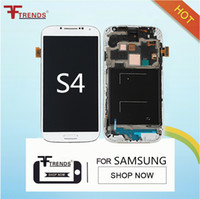 Wholesale Board For Lcd Panel - High Quality for Samsung Galaxy S4 i9500 i9505 M919 L720 i545 R970 i337 Full LCD Screen Touch Screen Digitizer + Middle Frame Board