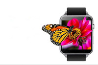 Wholesale Watch Sat - Smart Watch MTK2502C Magnetic Charge 1.54inch IPS Touch Screen iwatch Remote Notification UV Detection Sit Reminder Sleep Monitor Pedometer