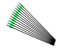 Wholesale recurve archery bows - 30inch carbon arrow archery hunting with point for Recurve Compound Bow