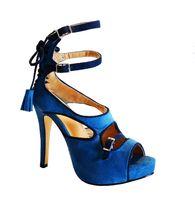 Wholesale Melissa Sky - women sandal 2015 blue heels stiletto platform high heels shoes woman sapato feminino melissa shoes gladiator sandals women sandalia