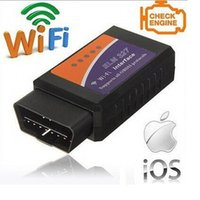 Universal ELM327 Wifi Scanner Auto OBD2 Diagnose-Tool ELM 327 WIFI OBDII Scanner V 1.5 V1.5 Wireless für beide iPhone für iPad für Android