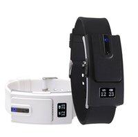 Wholesale Bluetooth Fashion Vibrate - New Hot Smart Watches Digital Intelligent Wearable Technology Wireless Bluetooth Headset Watch Fashion Music Call Vibrate