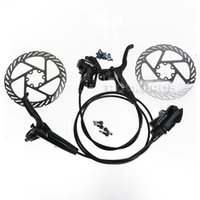 Wholesale Avid Hydraulic Brakes - AVID 2014 DB3 MTB Bike Bicycle Hydraulic Brake Set Front and Rear Disc Brake & HS1 G3 G2 Disc Brake 160mm Rotor&Ti Bolt,2Colors
