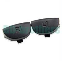 Wholesale ps4 parts trigger resale online - Black L1 R1 Button Key Trigger Replacement Parts Buttons For PlayStation PS4 Controller sets
