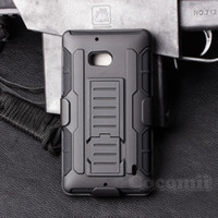 Wholesale Future Skin - Future Armor Impact Defender Holster Belt Clip Combo Hybrid Kickstand Case For Nokia Lumia 650 929 930 Cover Skin With Stand Shockproof