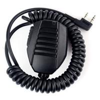 Wholesale Kenwood Speaker Mic - Wholesale-New KMC-24 Handheld Microphone Mic Speaker IP54 Rain-proof for Kenwood TK2160 TK370 TK3402 TK2312 TK3312 NX240 NX220 NX320