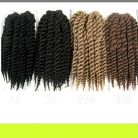 Wholesale Mambo Mix - hot sale in Europe and the United States 12'' havana MAMBO TWIST Africa12'' havana MAMBO TWIST Braided wig