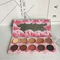 Vendita calda new Ombretto Laura Lee Los Angeles 10colors Cat Pigment Eyeshadow Palette Shimmer Eyes spedizione gratuita